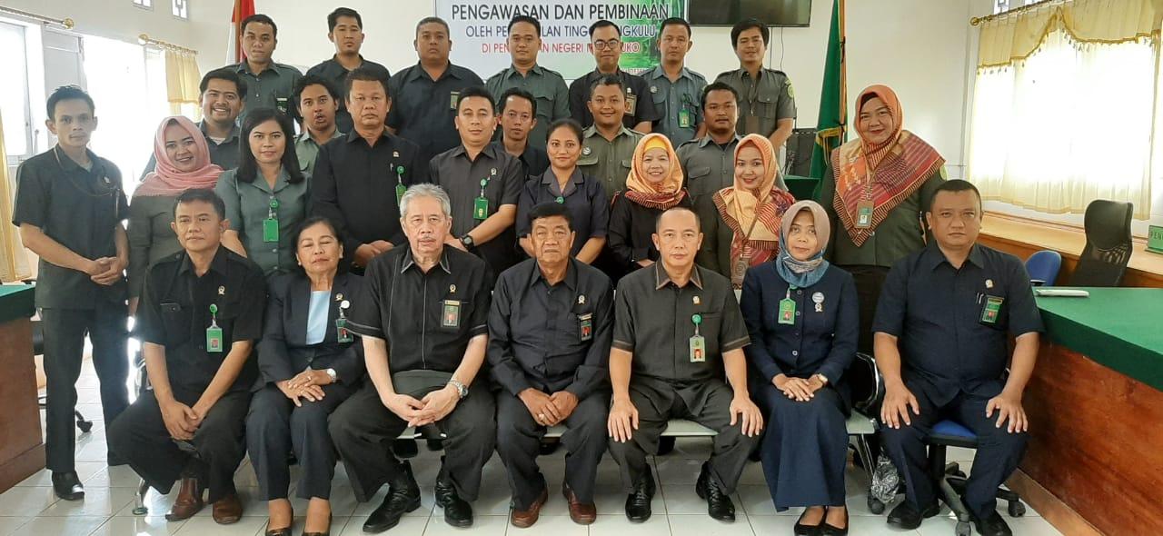 Pengawasan dan Pembinaan Oleh Pengadilan Tinggi Bengkulu